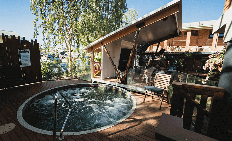 This spa is the only one of its kind in the west.